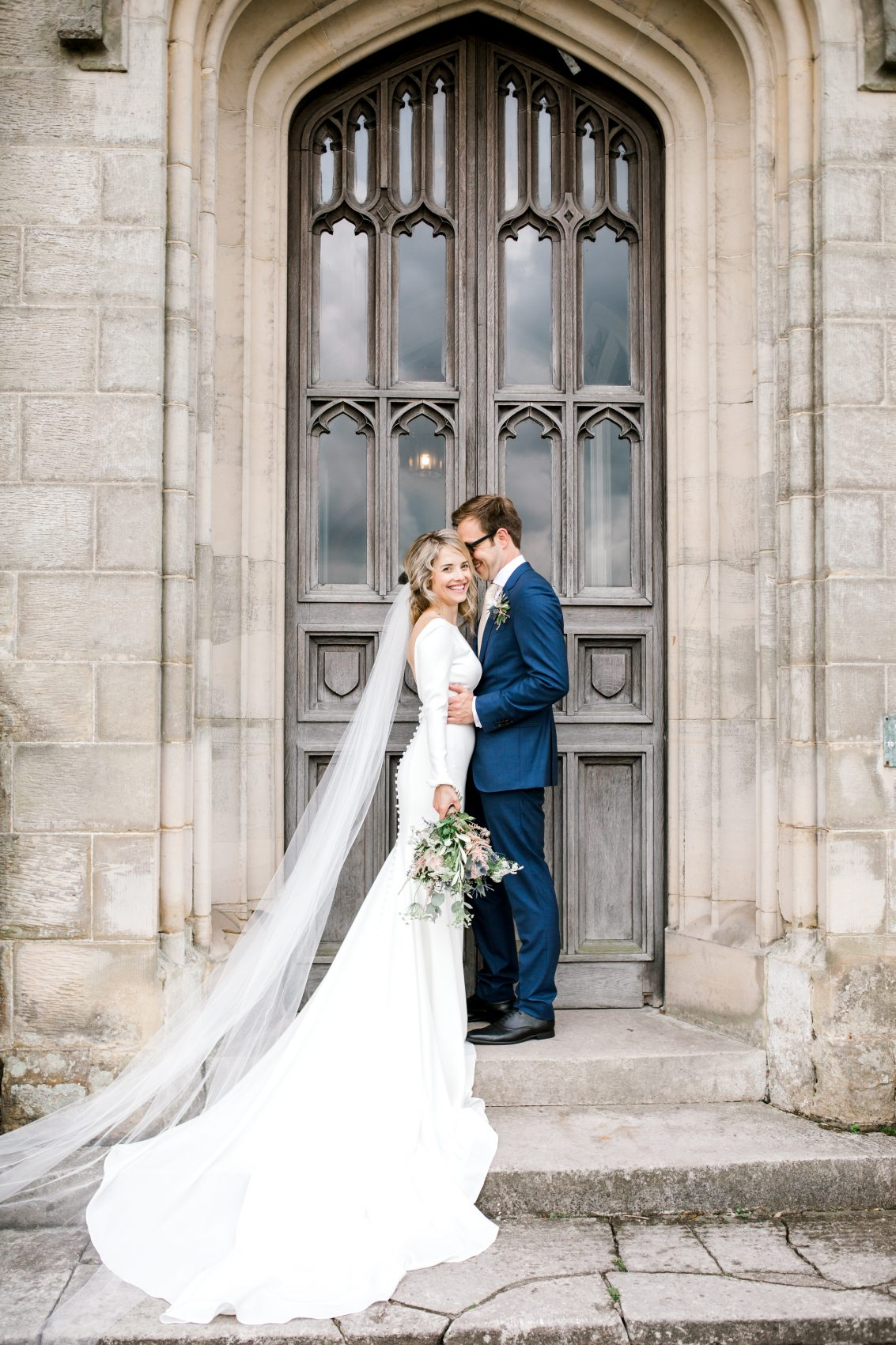 Chiddingstone Castle Wedding - Mikaella Bridal 2105 - Sam Areman Photo-2710