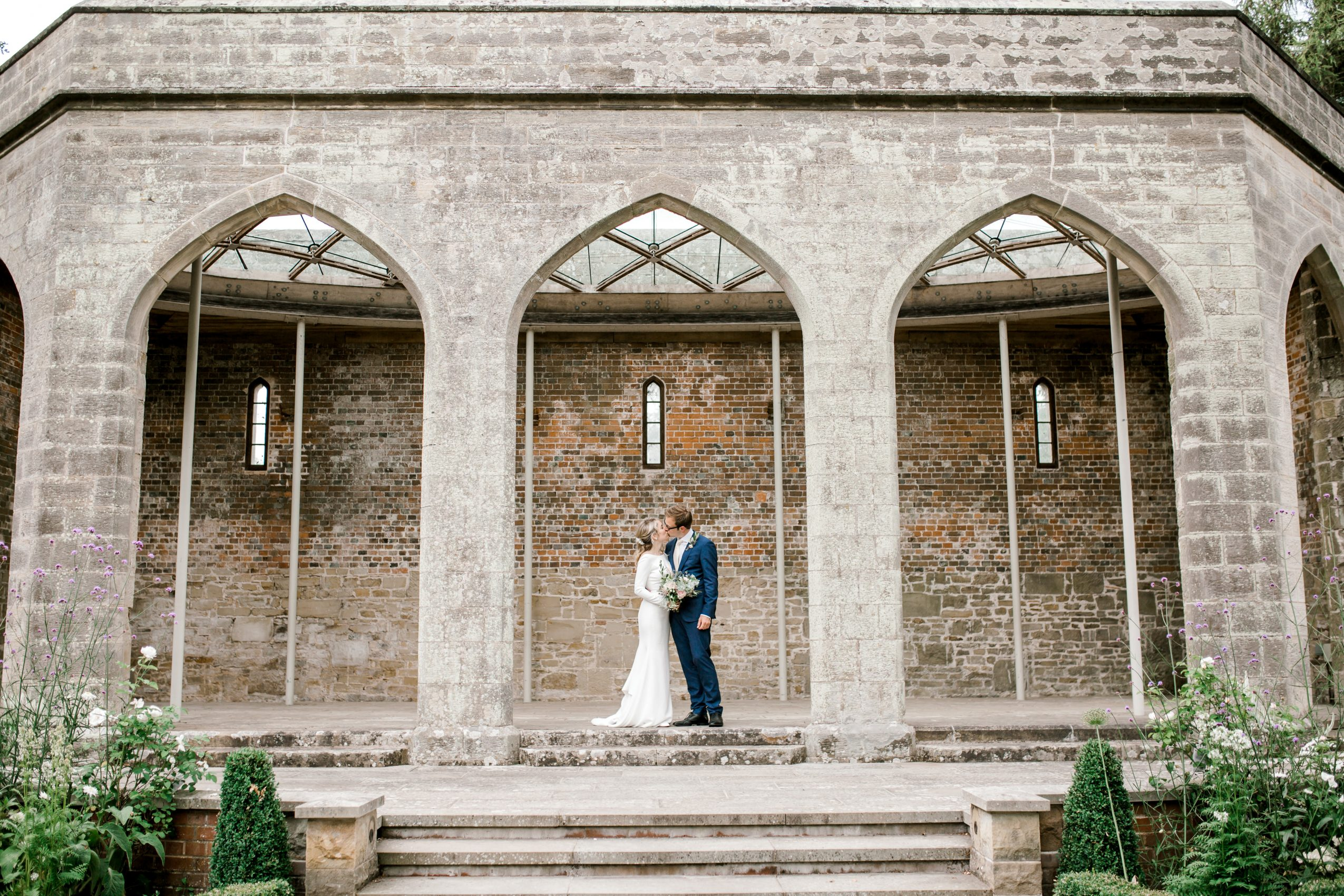 Chiddingstone Castle Wedding - Mikaella Bridal 2105 - Sam Areman Photo-4705
