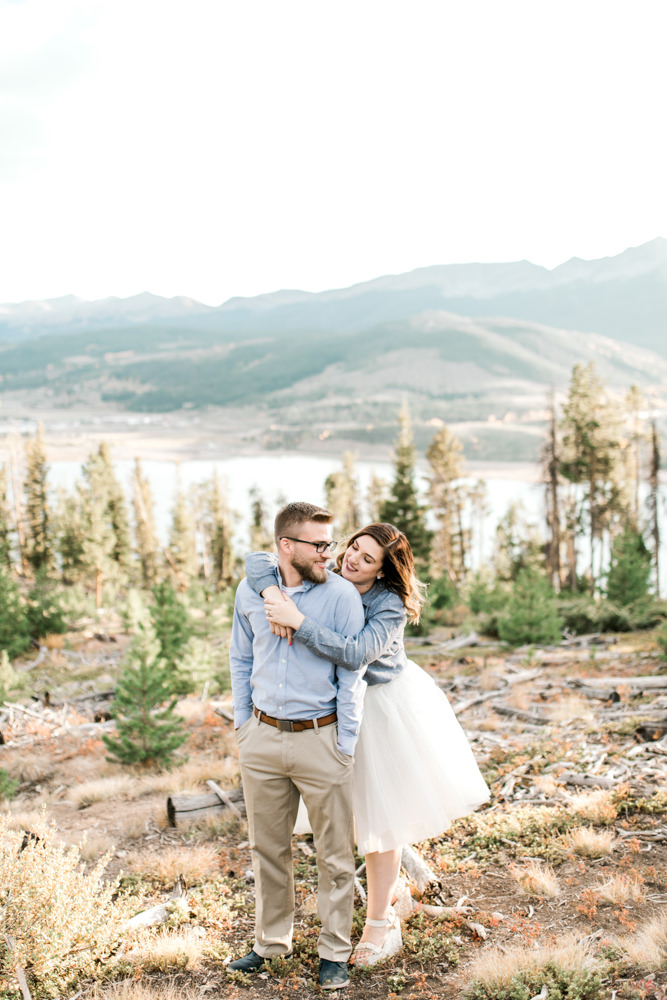 Destiny and Nate Engagement Pictures - Dillon Lake - Sam Areman Photo 277210