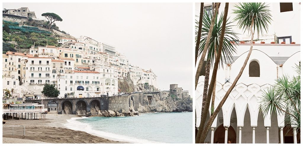 Amalfi Coast Italy Travel Film Photography, Positano