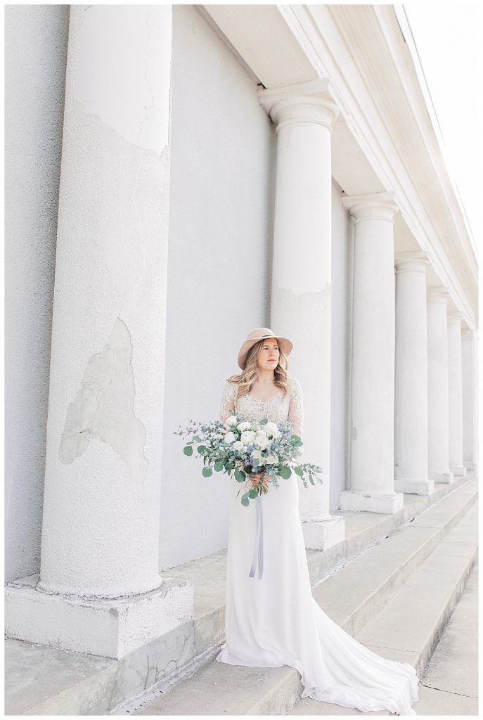 Sam Areman Photo - Justin Alexander - French Provincial Editorial Wedding - Blush Bridal - Petals to Platinum - Lovebird Jewelry Collective
