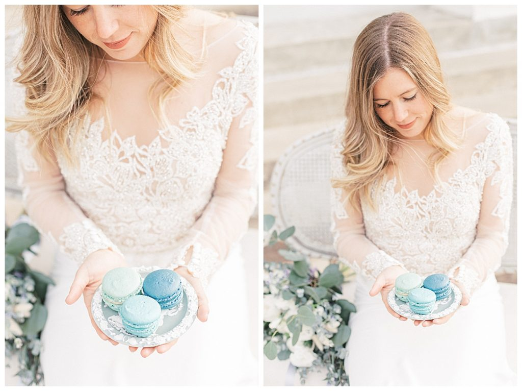 Sam Areman Photo - French Provincial Editorial Wedding - Blush Bridal - Petals to Platinum - Goldenrod Pastries - Nostalgia Rentals