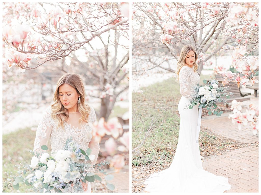 Sam Areman Photo - Justin Alexander - French Provincial Editorial Wedding - Blush Bridal - Petals to Platinum - Lovebird Jewelry Collective