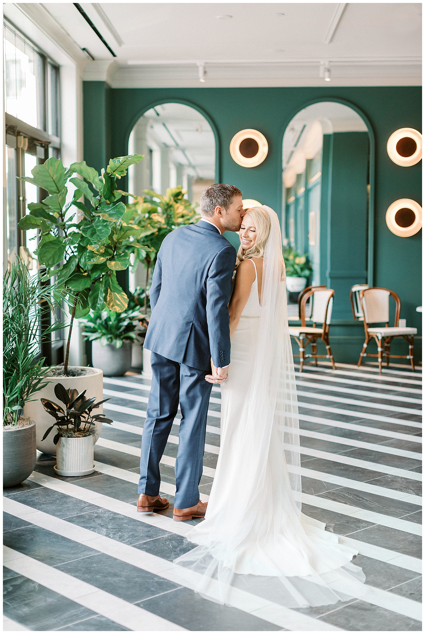 Wedding at the Kimpton Cottonwood Hotel in Omaha Nebraska
